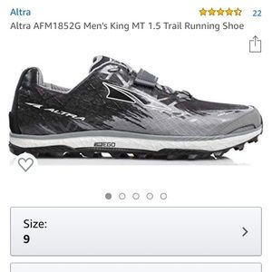 Altra King Mountain trail running shoes